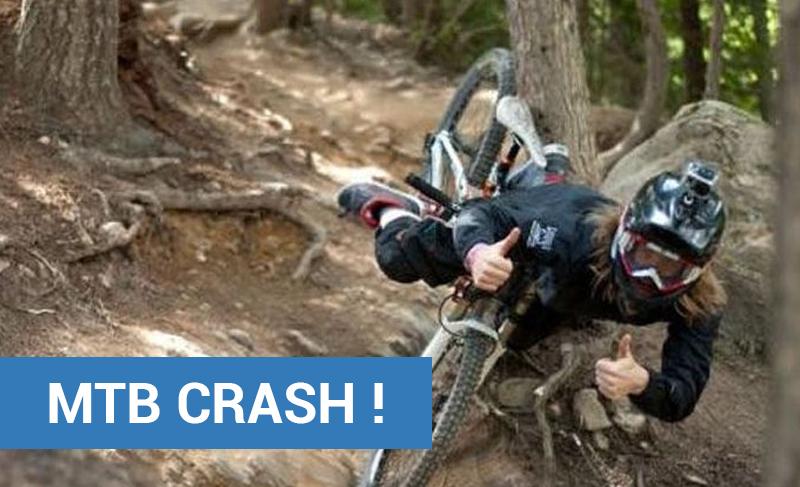 MTB Crash !
