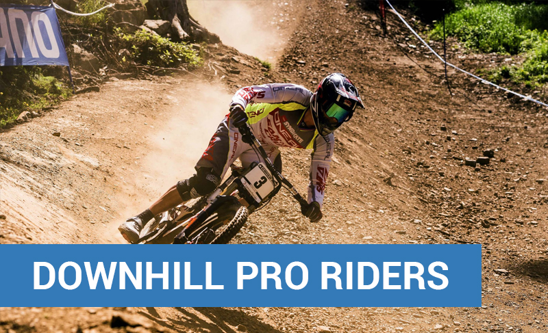 Downhill Pro Riders