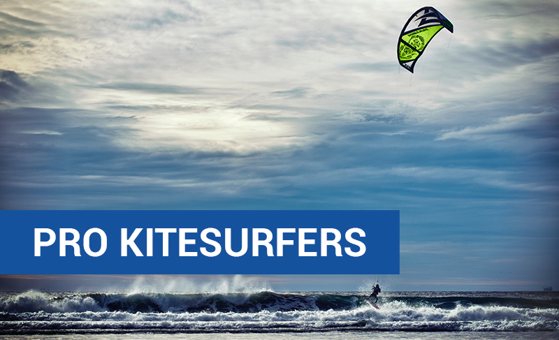 Pro Kitesurfers
