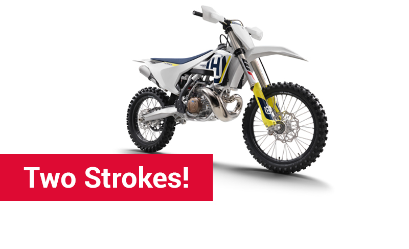 Two Strokes !